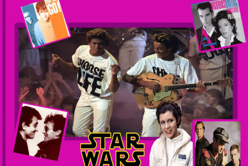 Desde Wham a Carrie Fisher